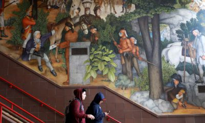 Photo of George Washington mural in San Francisco
