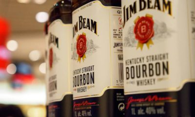 Photo of Jim Beam bottles