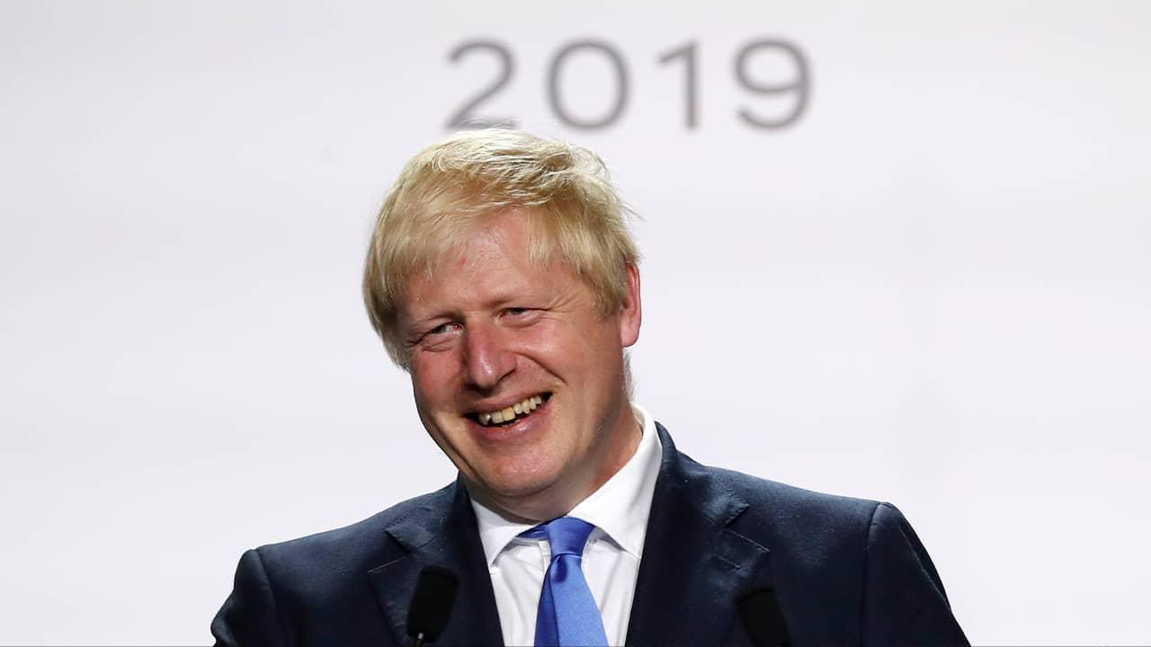 Photo of British Prime Minister Boris Johnson