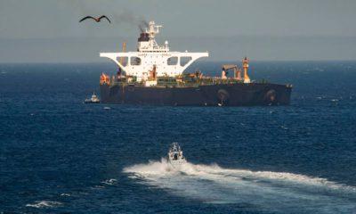 Photo of an Iran oil tanker