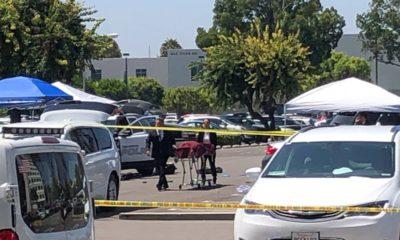 Photo of crime scene at CSU, Fullerton