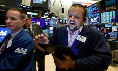 Photo of traders at the stock market