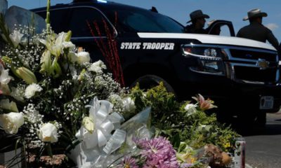 Photo of state trooper vehicle in El Paso