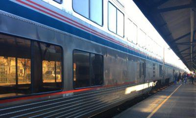 Photo of Amtrak's Coast Starlight passenger car Co