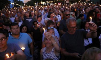 Dayton shooting candlelight vigil