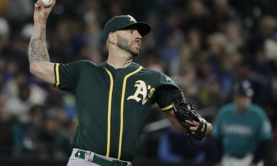 Photo of Oakland A's Mike Fiers