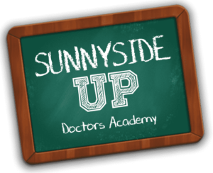 Sunnyside Up Logo: Doctors Academy