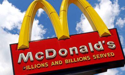 Photo of McDonald's sign