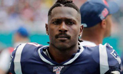 Photo of Antonio Brown in a New England Patriots uniform