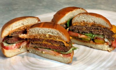 Photo of the Original impossible burger
