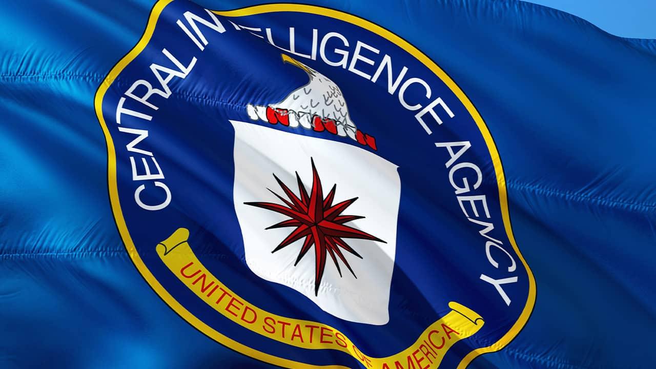 Photo of CIA flag