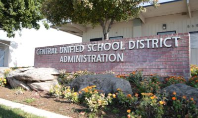 Photo of Central Unified School District Administration sign