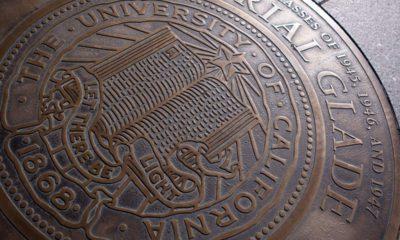 Photo of University of California seal