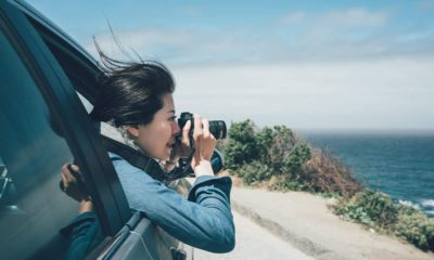 Photo of a tourist taking a photo