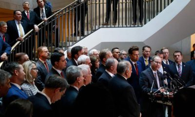 Photo of House Republicans during a news conference