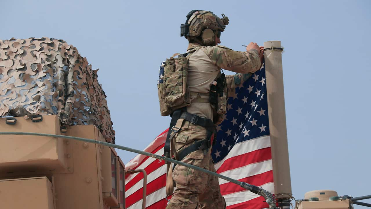 Photo of American soldier