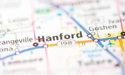 Photo of Hanford on map