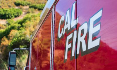 Photo of a Cal Fire engine