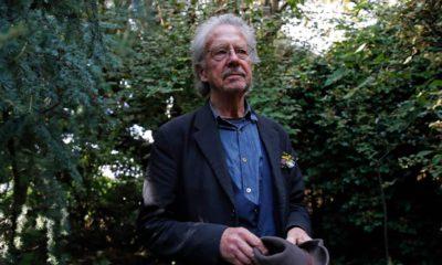 Photo of Austrian author Peter Handke