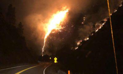 Photo of Briceburg Fire on Highway 140