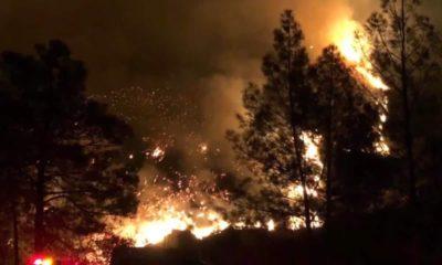 Photo of the Briceburg Fire near Yosemite National Park