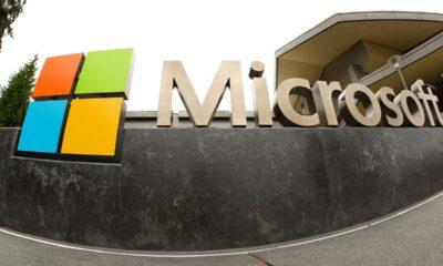Photo of Microsoft logo