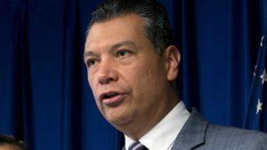 Photo of Secretary of State Alex Padilla