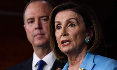 Photo of Nancy Pelosi and Adam Schiff