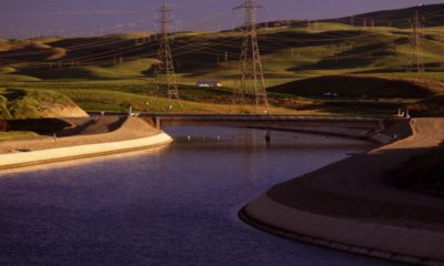 Photo of a portion of the State Water Project
