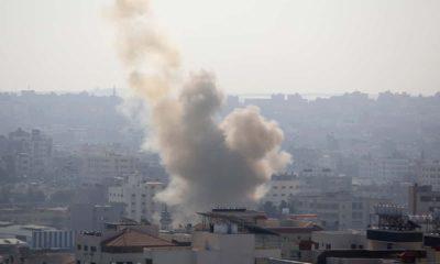 Photo of Israeli airstrike