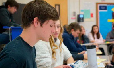 Photo of tenth-grader Landon Hackney