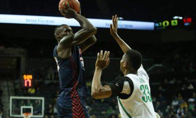 Photo of Fresno State men's basketball at Oregon