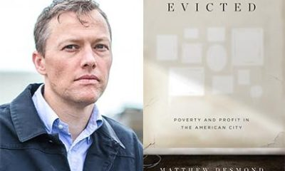 """Author Matthew Demond and his book """"Evicted"""""""