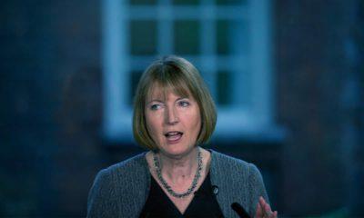 Photo of British main opposition Labour Party lawmaker Harriet Harman
