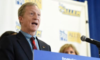 Photo of Democratic presidential candidate Tom Steyer