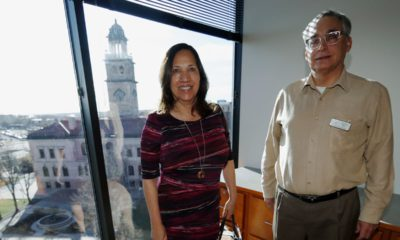 Photo of Colorado Springs, Colo., council members Yolanda Avila and Andres Pico