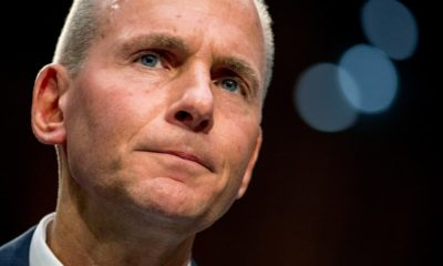 Photo of Boeing Company President and Chief Executive Officer Dennis Muilenburg