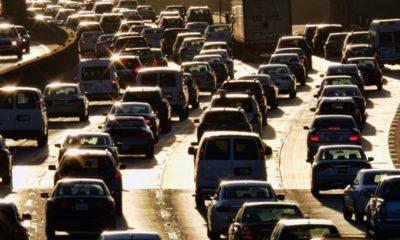 Photo of rush hour traffic in LA