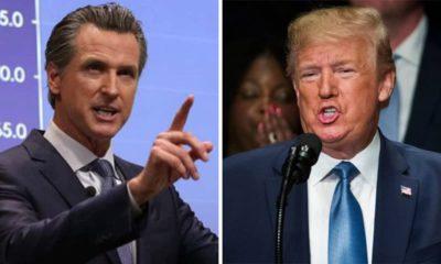 Photos of Gavin Newsom and Donald Trumpsite