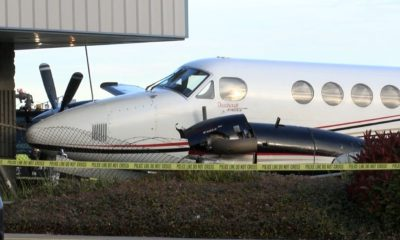 Photo of a King Air 200 propeller driven airplane