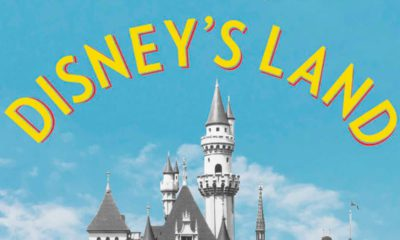 """Photo of a cropped area of the cover of """"Disney's Land"""""""