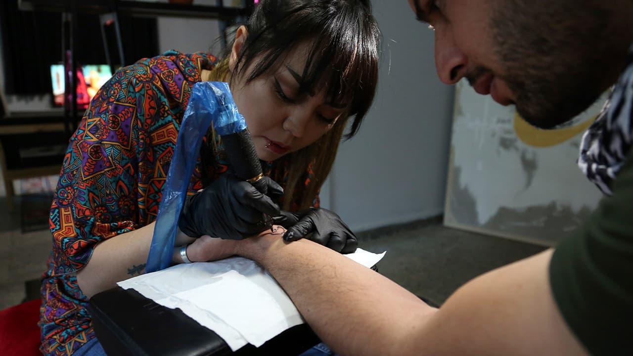 Suraya Shaheedi, 26, Tattoo artist