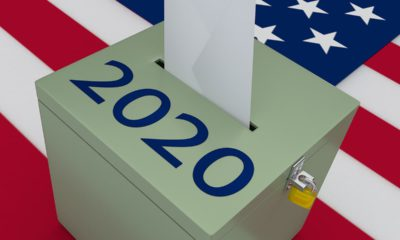 Photo of a 2020 ballot box