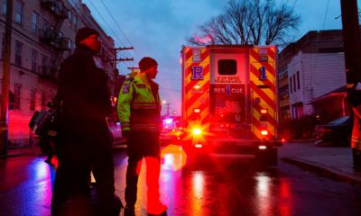 Photo of first responders and law enforcement in Jersey City