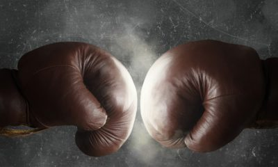 Photo of boxing gloves