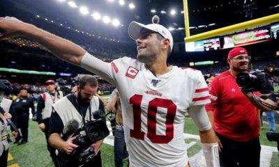 Photo of San Francisco 49ers quarterback Jimmy Garoppolo