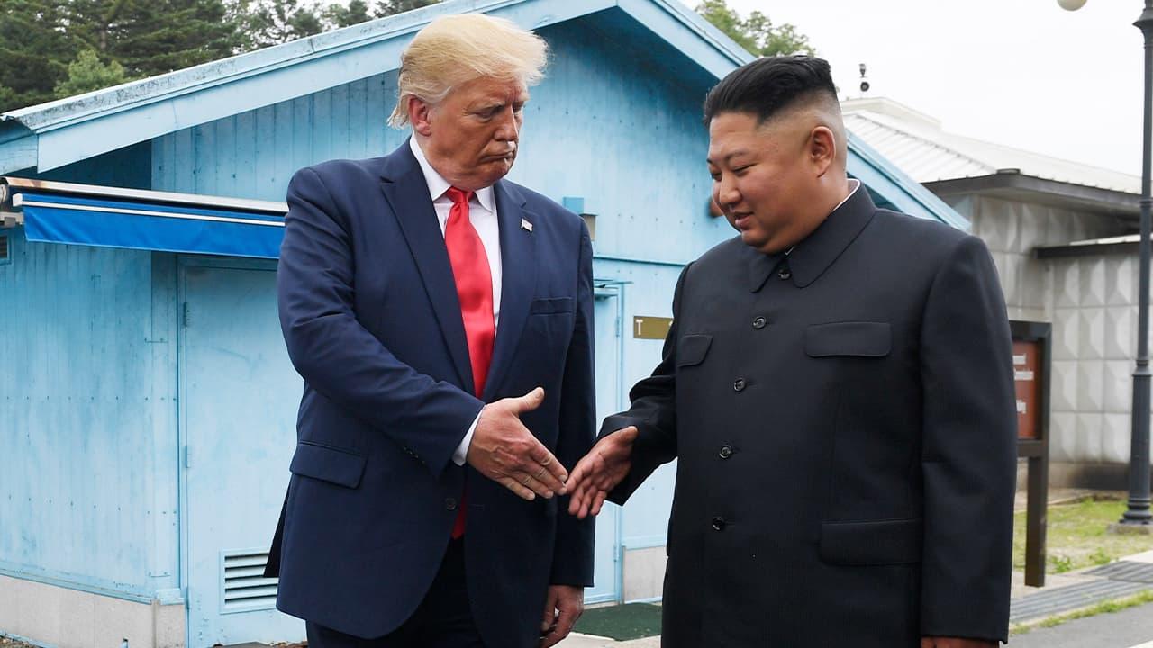 Photo of President Donald Trump and Kim Jong Un