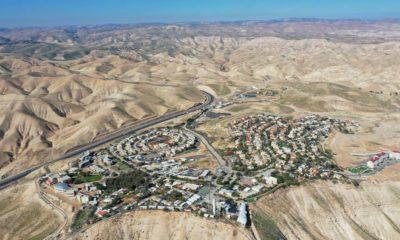Photo of the West Bank settlement of Mitzpe Yeriho