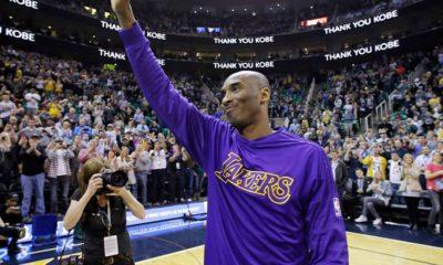 Photo of Kobe Bryant in 2016
