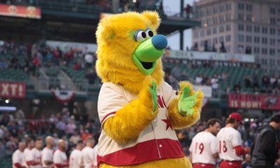 Photo of Parker, the Fresno Grizzlies mascot